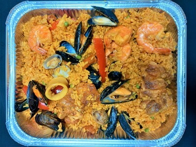 4 porties paella mixta