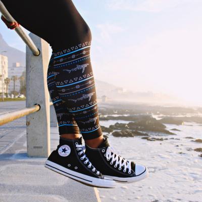 Shark Warrior Leggings
