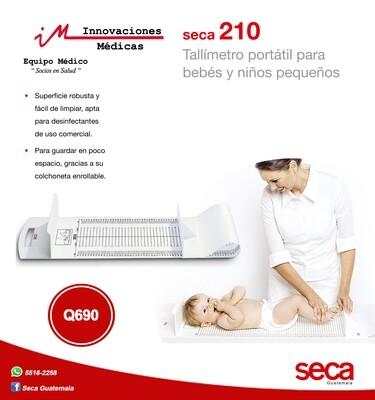 Tallímetro portátil para bebés y niños pequeños