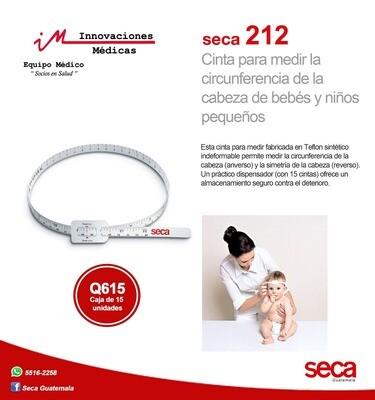 Cinta métrica para medir circunferencia de cabeza de bebés y niños pequeños.