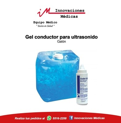 Gel conductor para ultrasonido (Galón)