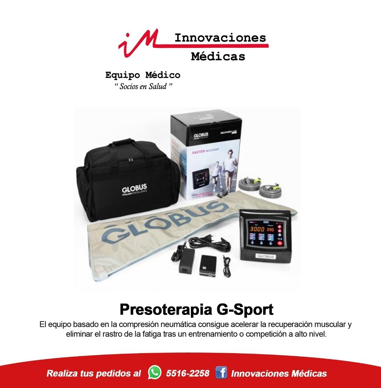 Presoterapia Portátil G-Sport
