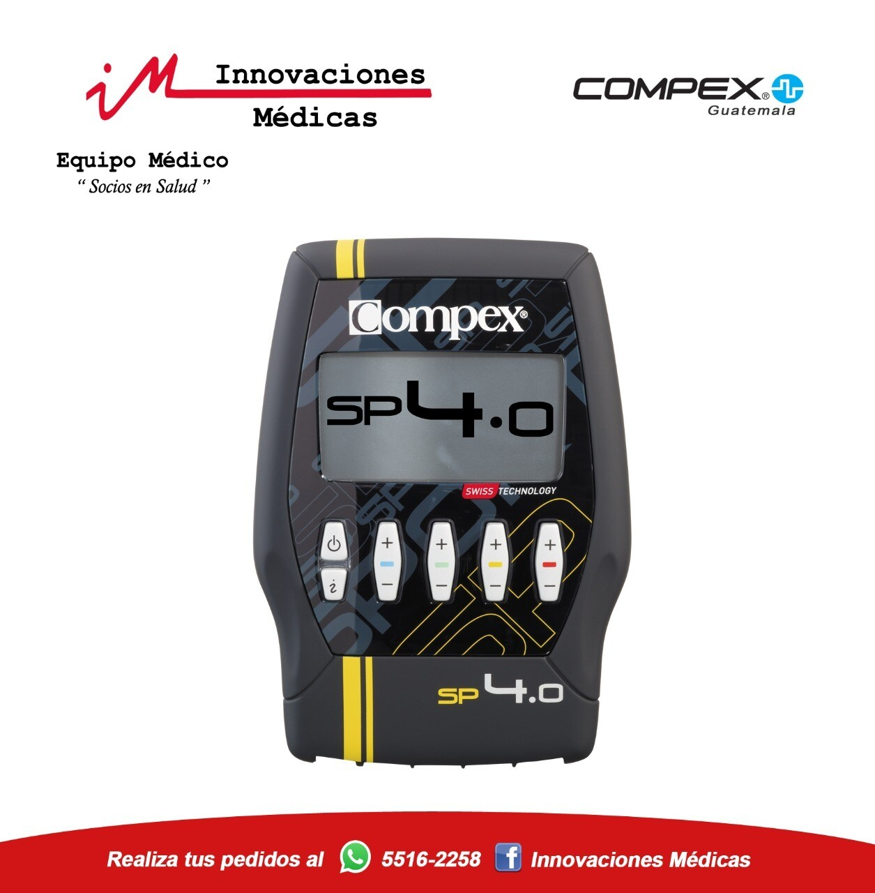 Electroestimulador SP 4.0