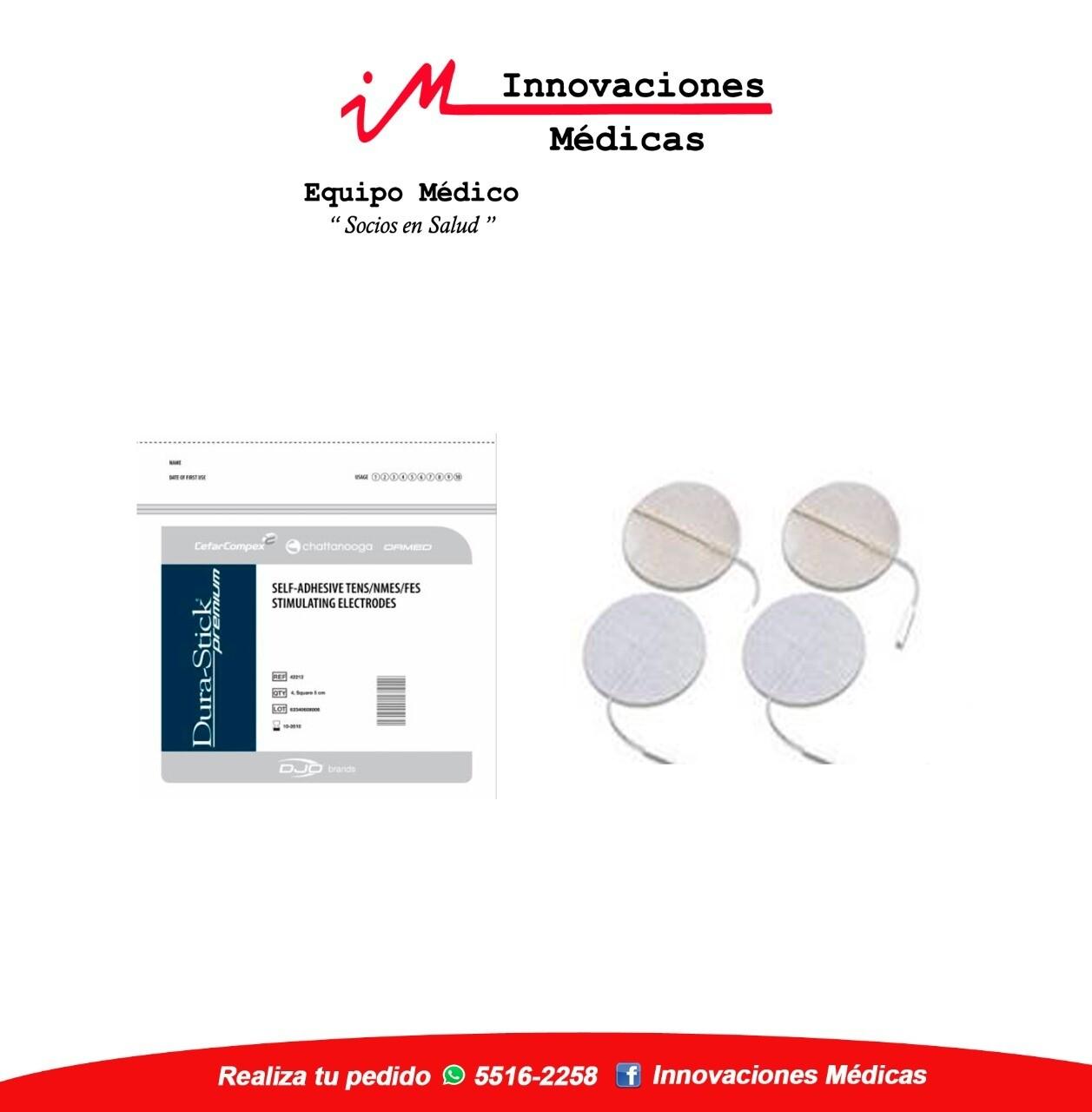 Electrodos DuraStick Premium Redondos 3.2cms Pin