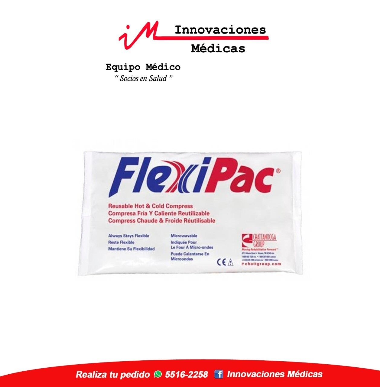 Compresa grande frío/calor FlexiPac