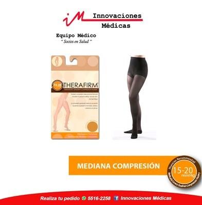 Panty de compresión 15-20mmHg, negro