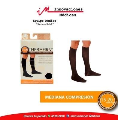 Calcetín de compresión 15-20mmHg, negro