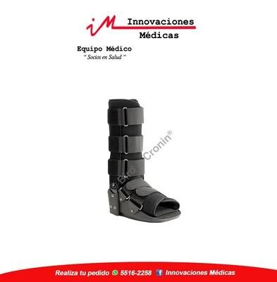 Inmovilizador de tobillo tipo bota, negro