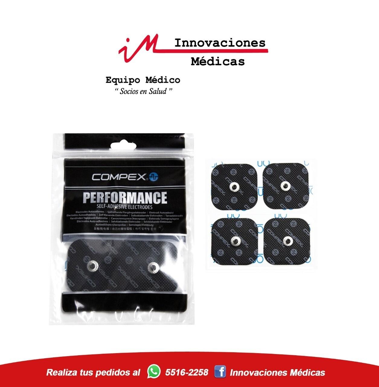 Electrodos de Broche 5x5cms