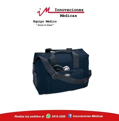 Maletín de para transportar equipo médico, color azul