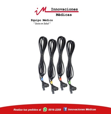 Cables para electroestimulador  COMPEX