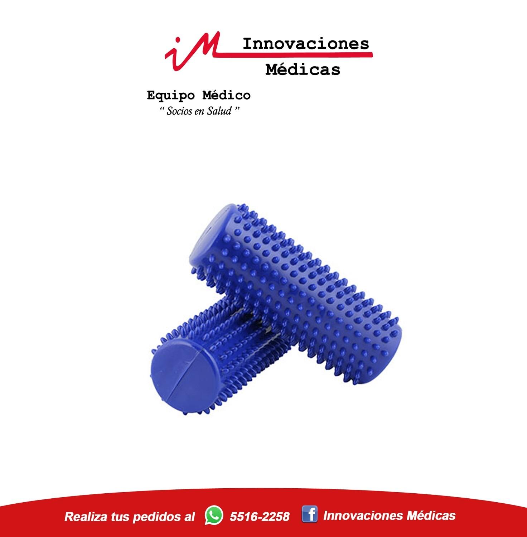 Rodillo de estimulación color azul