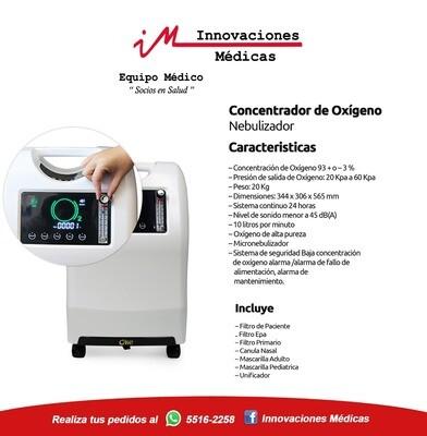 Concentrador de Oxígeno/Nebulizador