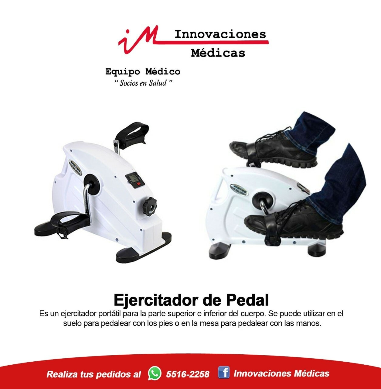 Ejercitador de pedales Deluxe