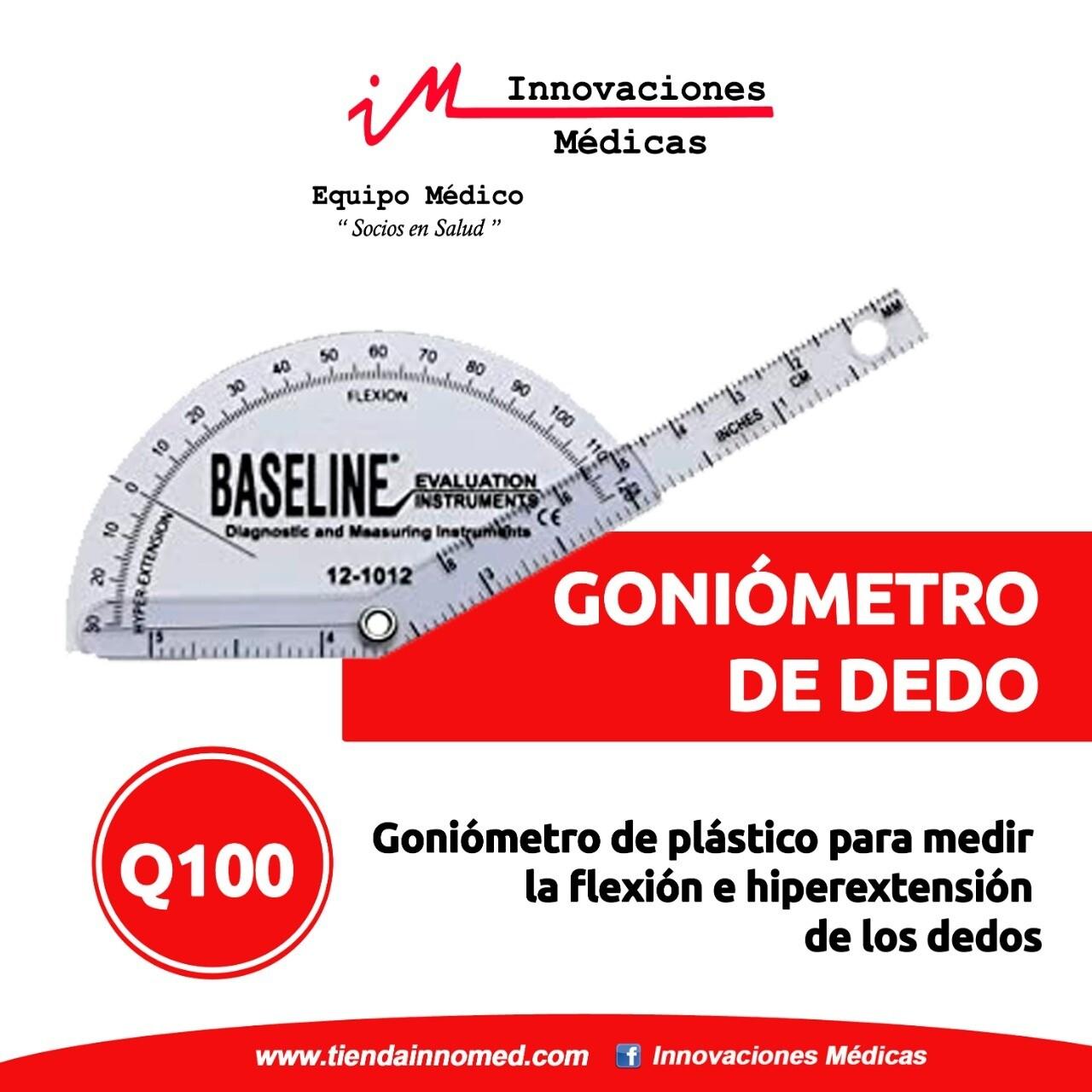Goniometro de dedo