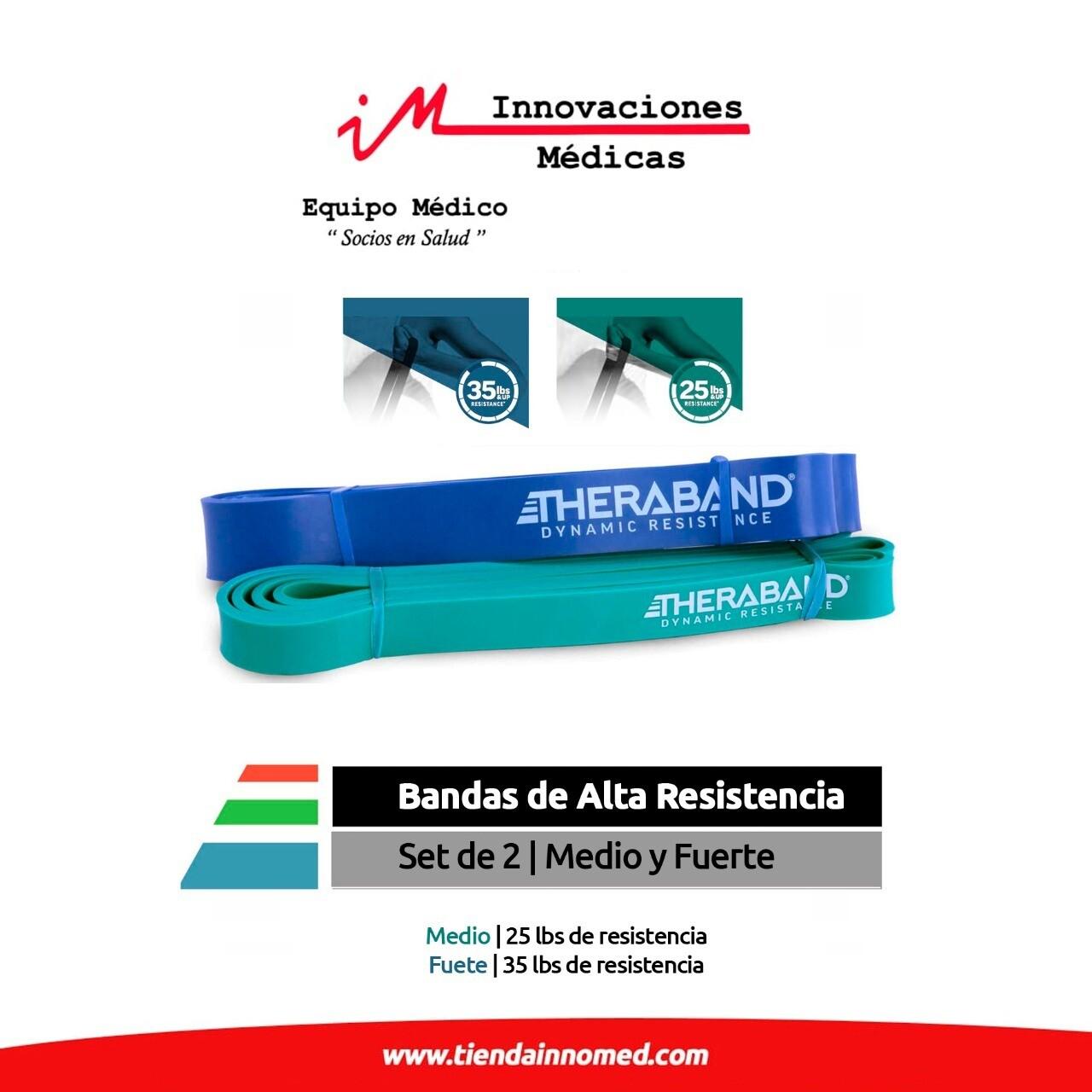 Kit de Bandas de Alta Resistencia Medio