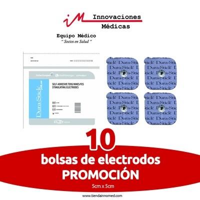 Pack de 10 bolsas de electrodos