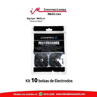 Kit de Electrodos de Broche 5x5cms
