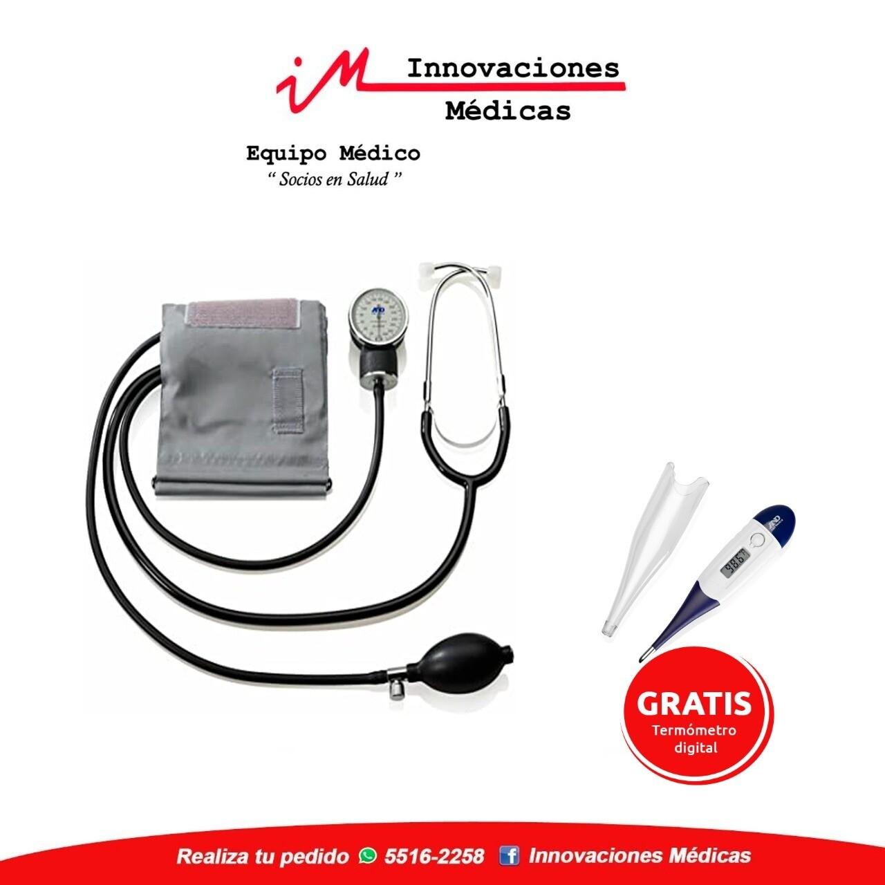 Esfigmomanometro Profesional+Termómetro Digital