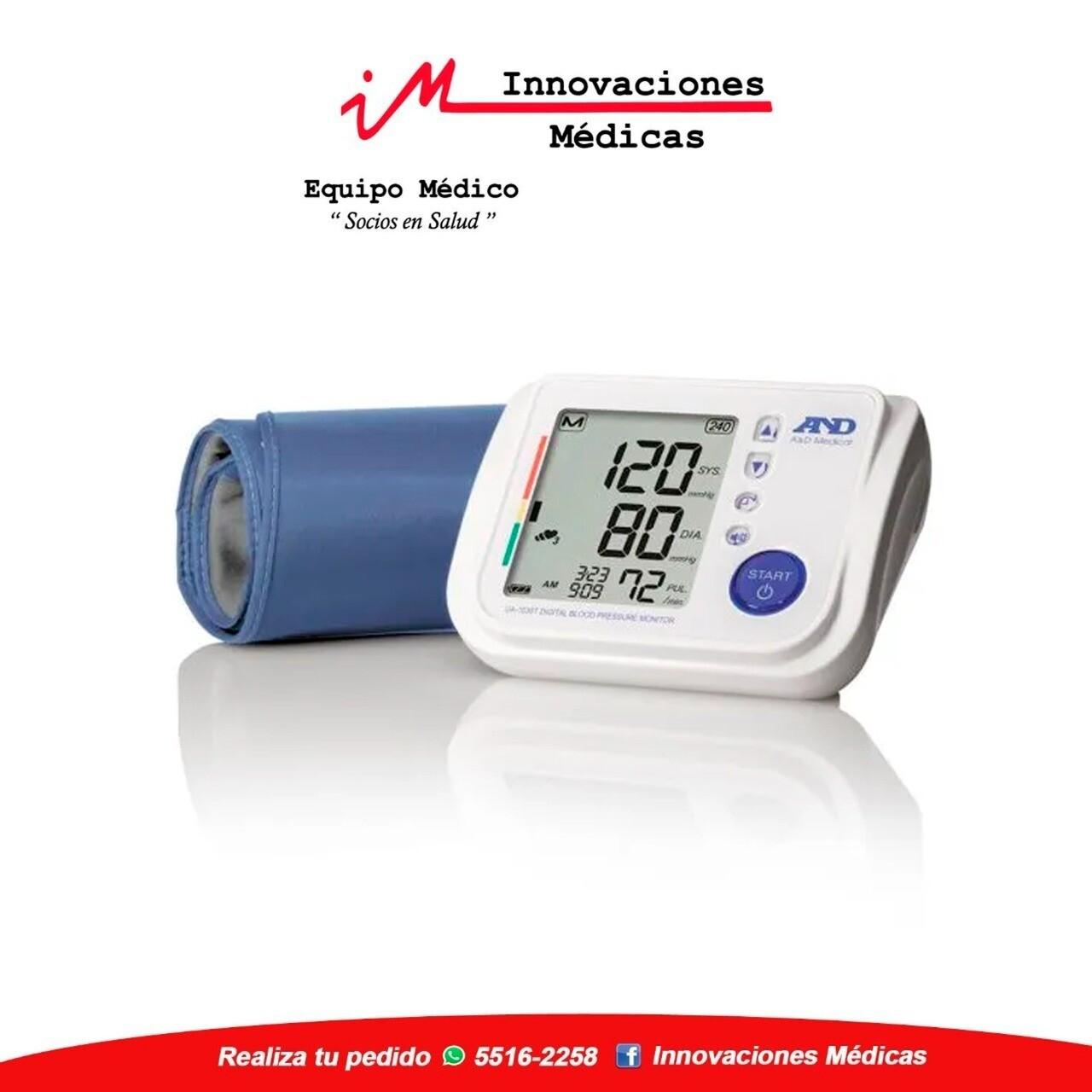 Monitor de presión arterial Premium con asistencia verbal