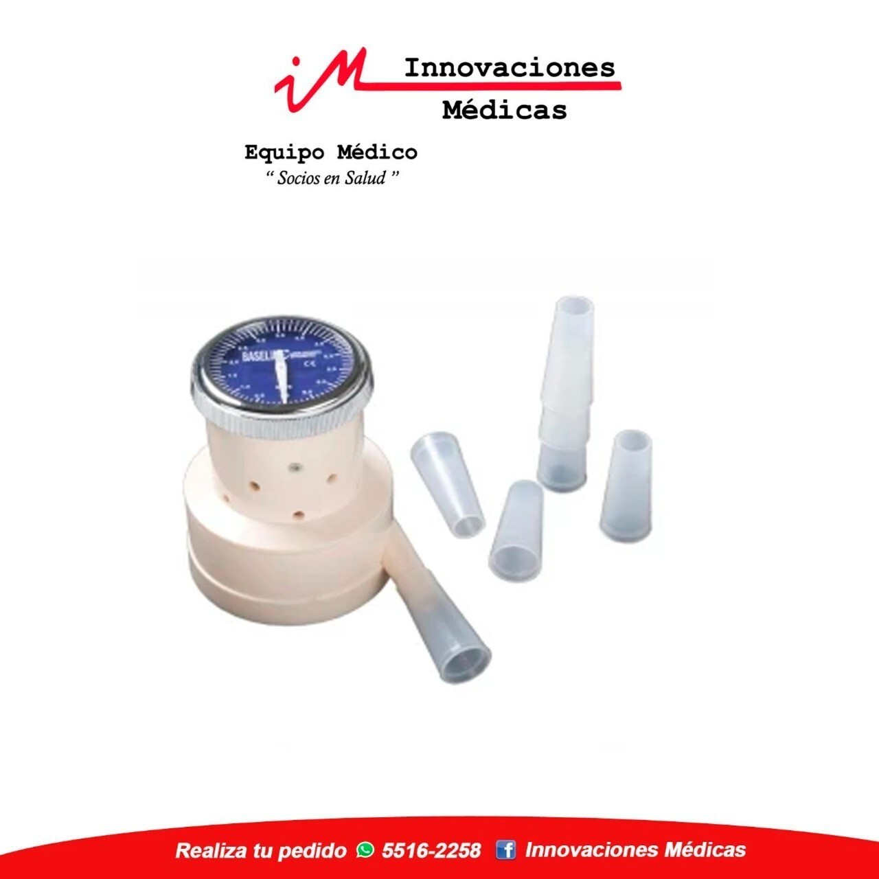 Espirómetro compacto