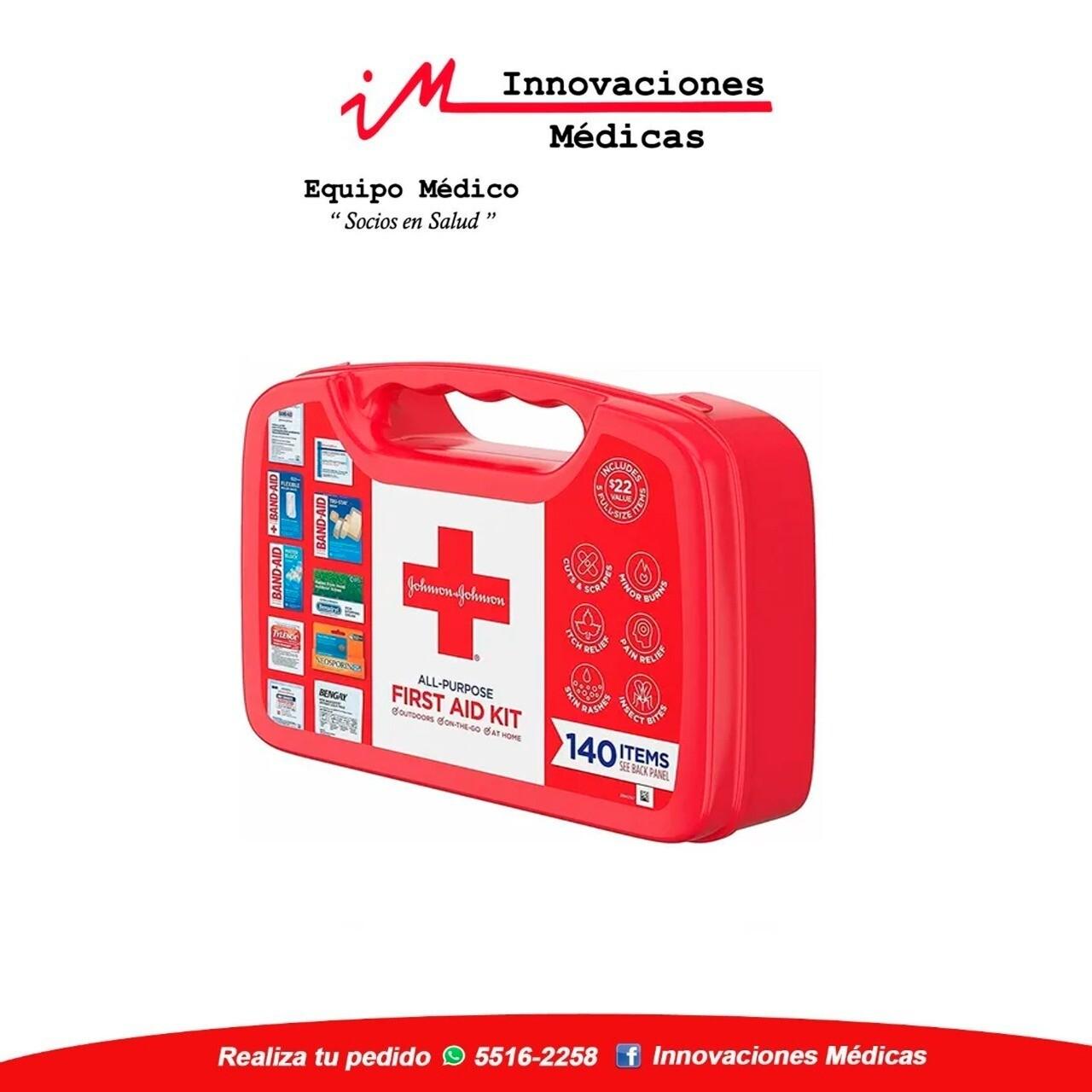 Botiquín de primeros auxilios Kit