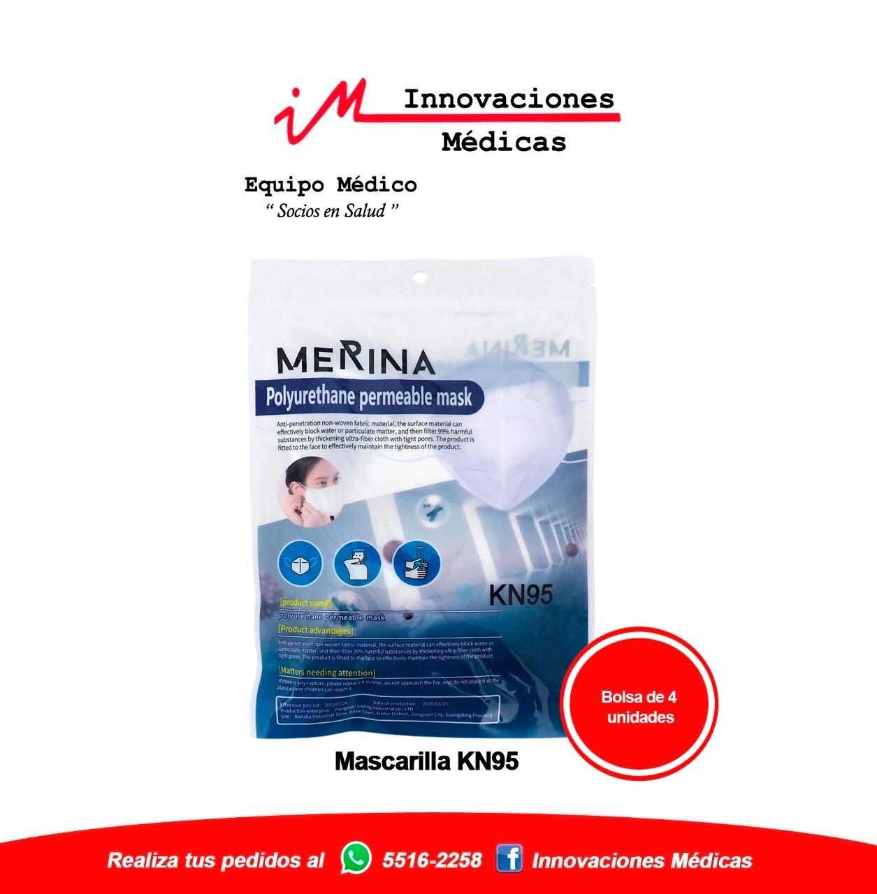 Mascarillas KN95 Merina