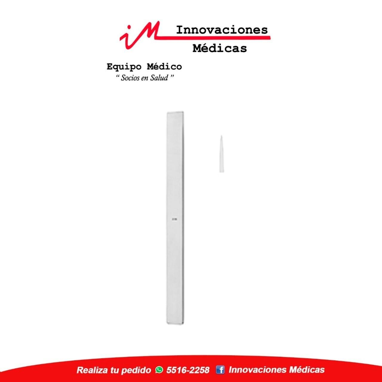 LAMBOTTE osteotomo recto, 24cm, 15mm