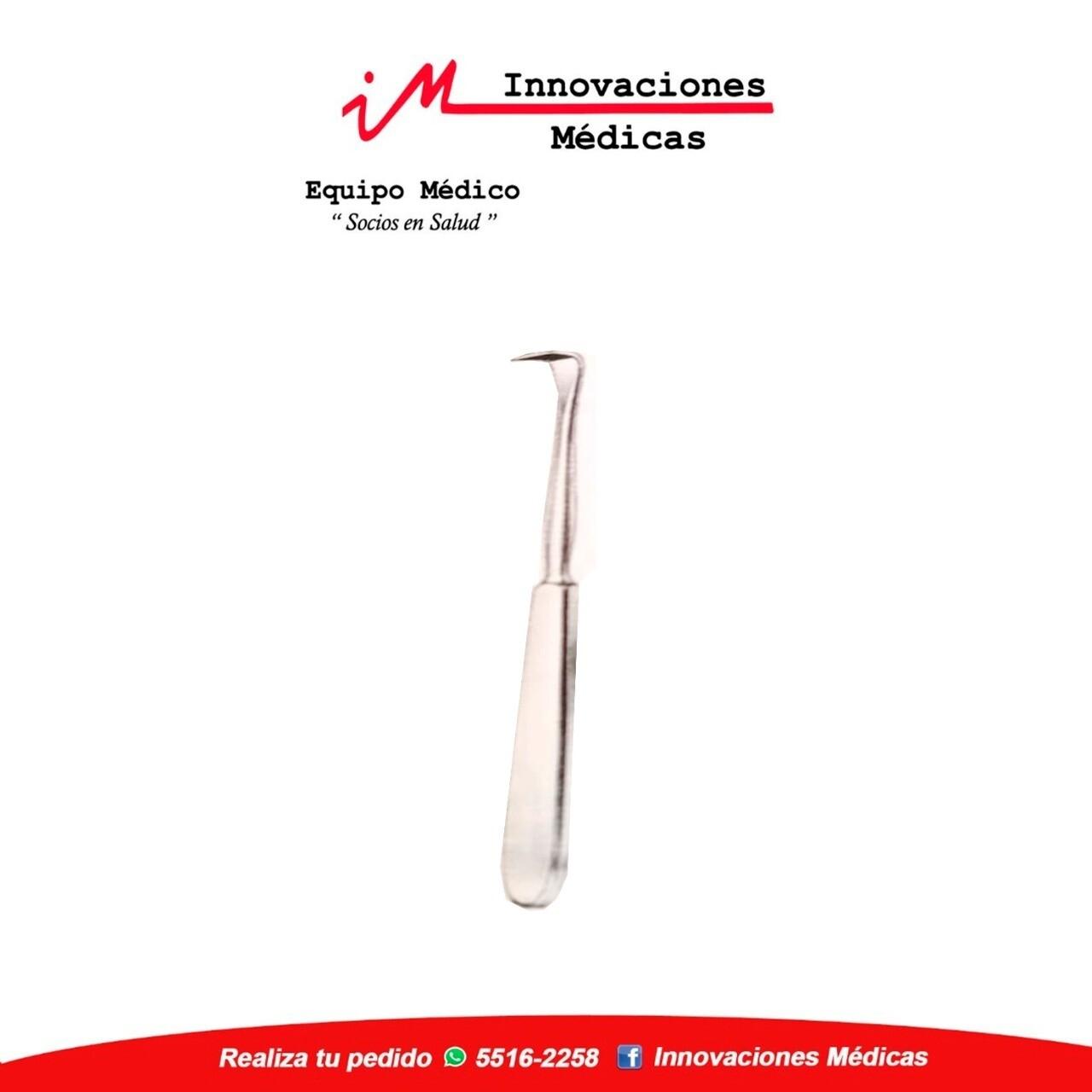 Periostótomo LANGENBECK  18cm, angulado, anchura 14,5mm