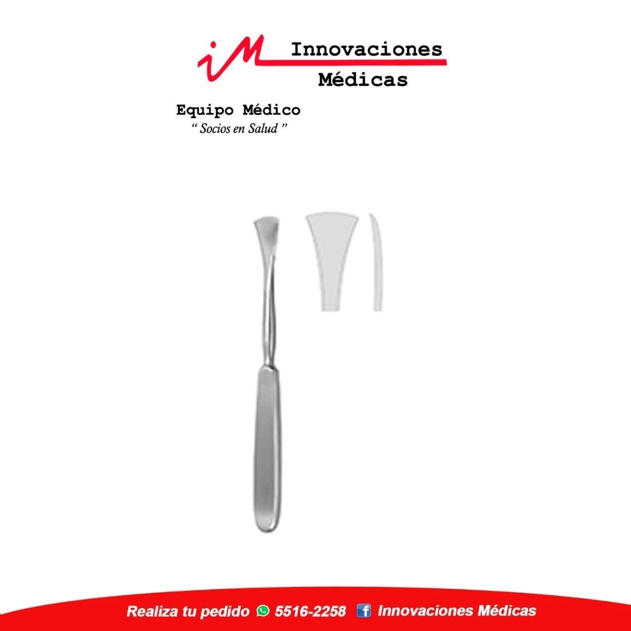Periostótomo LANGENBECK  19,5cm, anchura 15,0mm