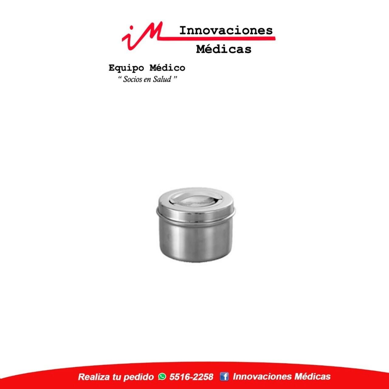 Caja metalica Ø 150mm x 150mm, redonda, con tapa