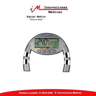 Medidor de grasa corporal e hidratación portátil