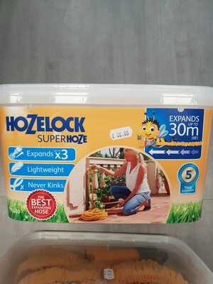 Hozelock superhoze 30m ALSO 15M