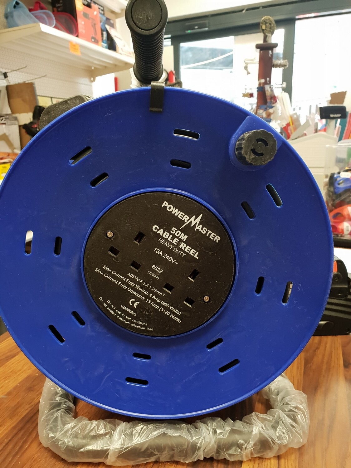 Power Master 50m Cable Reel