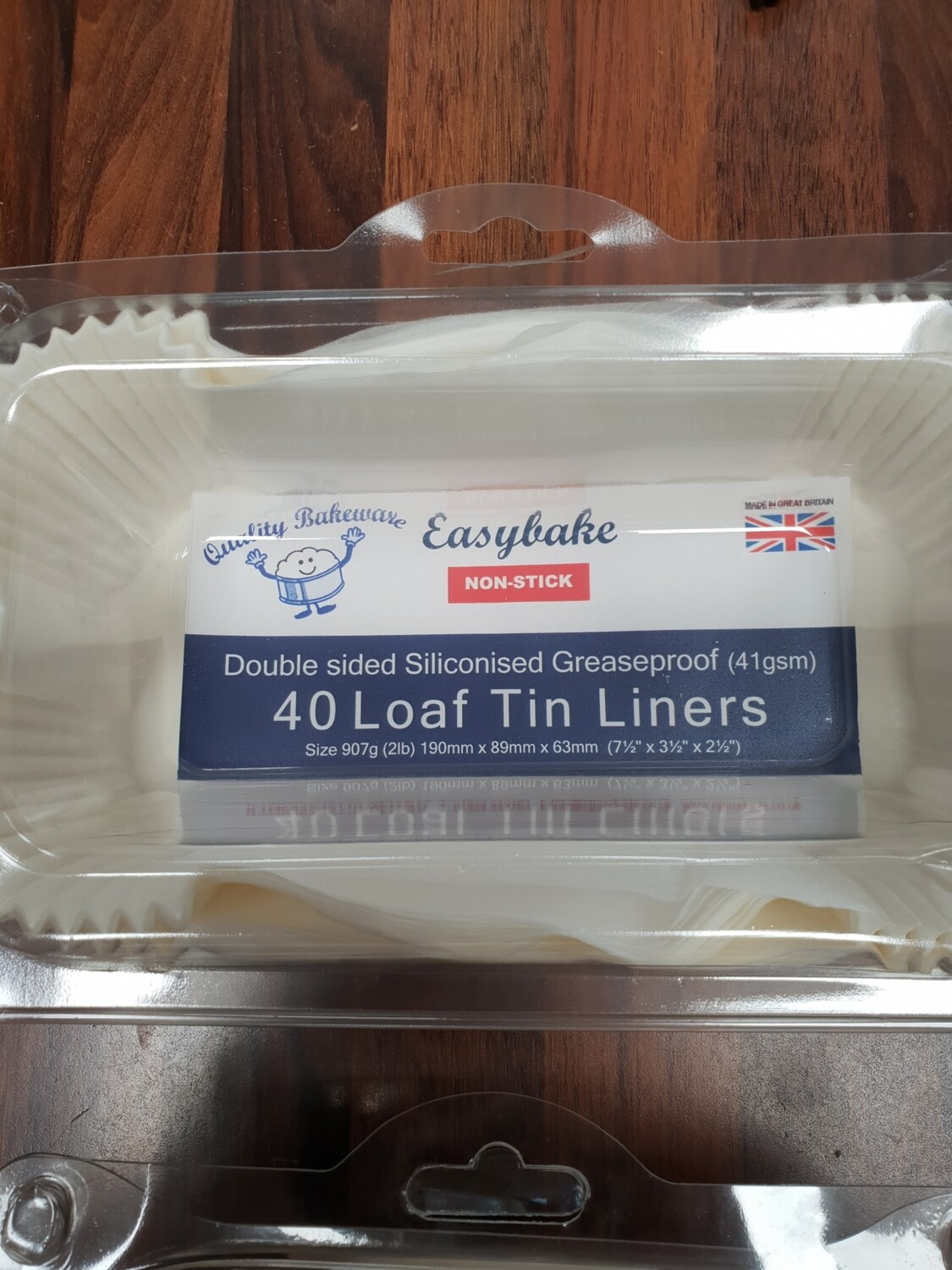 Non-Stick Loaf Tin Liners 2Ib