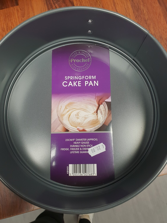 "Spring form Cake tin 9"""