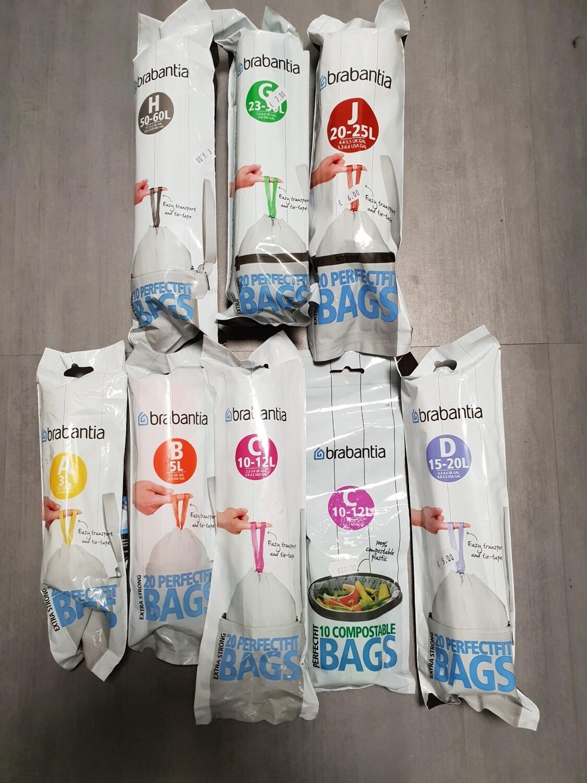 BRABANTIA BIN BAGS PRICES STARTING AT