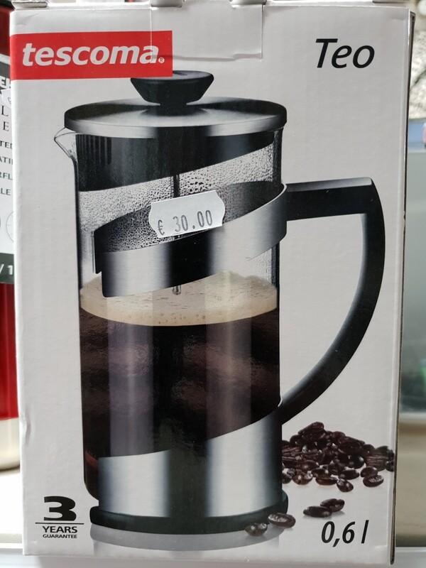 TEA COFFEE MAKER 0.6L