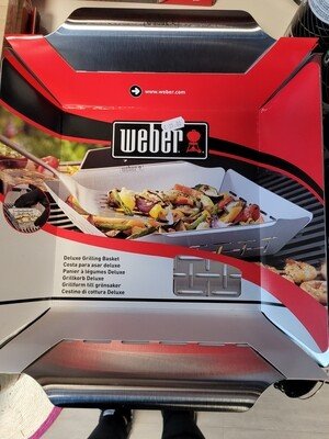 LARGE DELUXE GRILLING BASKET