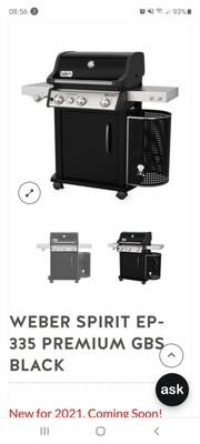 WEBR SPIRIT II EP 335 NEW 2021 HAS ARRIVED
