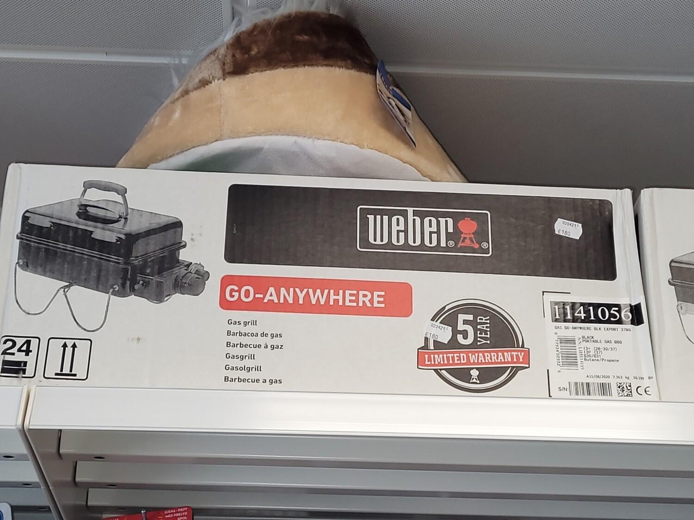 Weber go anywhere gas