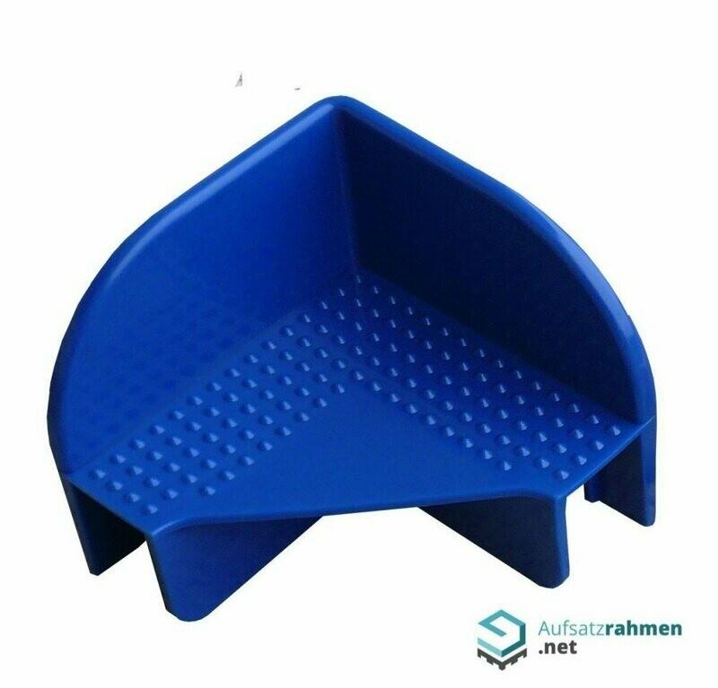 144 Stück Stapelecken f. AR Recycled -BLAU-
