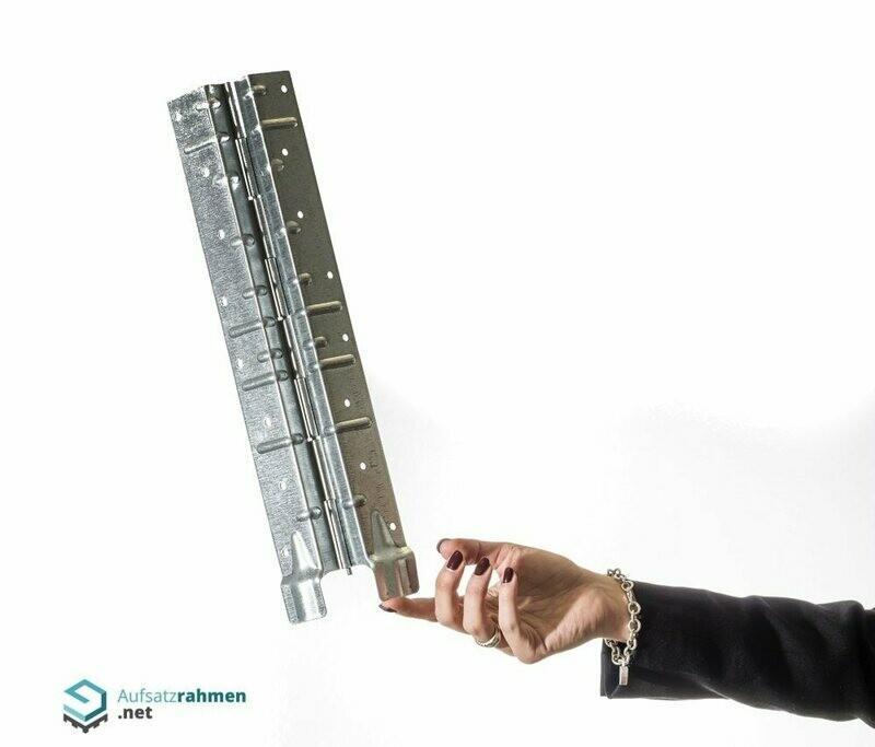 Scharniere für Aufsatzrahmen 400mm