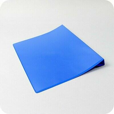 Dokumententasche mit Falz DIN A5 Querformat - Blau
