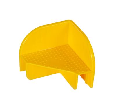 144 Stück Stapelecken für Aufsatzrahmen -GELB-