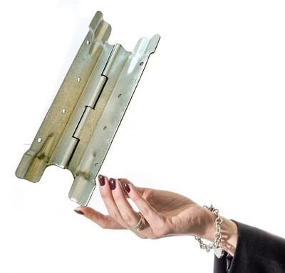 Scharniere für Aufsatzrahmen 200mm - doppelte Fortsätze