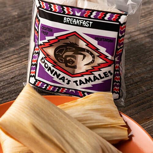 Breakfast Tamale
