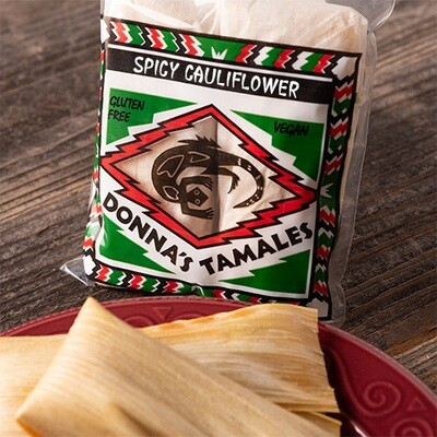 Spicy Cauliflower Tamale