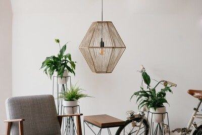Abajur Hexagonal / Hexagonal Lamp