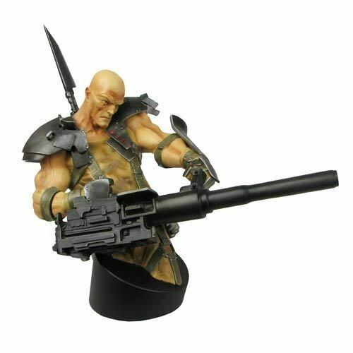 Red Star Kyuzo Desert Combat Mini Bust By Gentle Giant